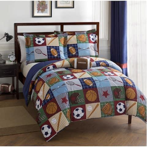 Team Sport Collegiate Ultra Soft Multi Piece Comforter Bedding Set