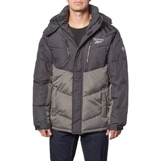Link to Reebok Heavyweight Puffer Coat for Men- Insulated Hooded Winter Bubble Jacket Similar Items in Men's Outerwear