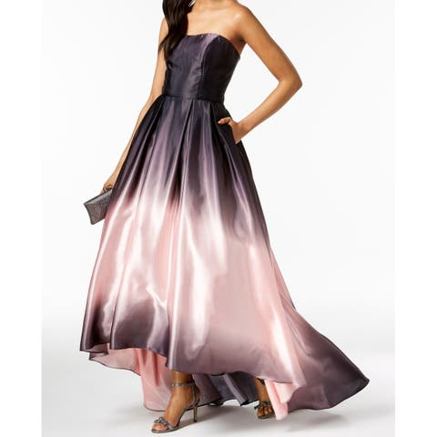 6315812e2c0 Betsy   Adam Pink Womens Ombre Prom Gown Dress