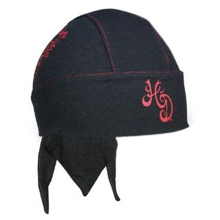 Harley-Davidson Women's Free Spirit Headwrap, Black & Deep Claret HW24630