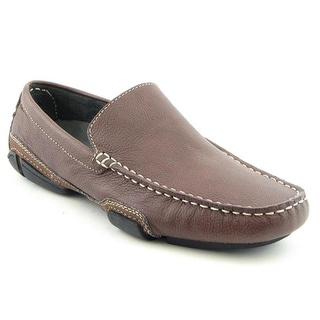Kenneth Cole Reaction World Hold On   Moc Toe Leather  Loafer