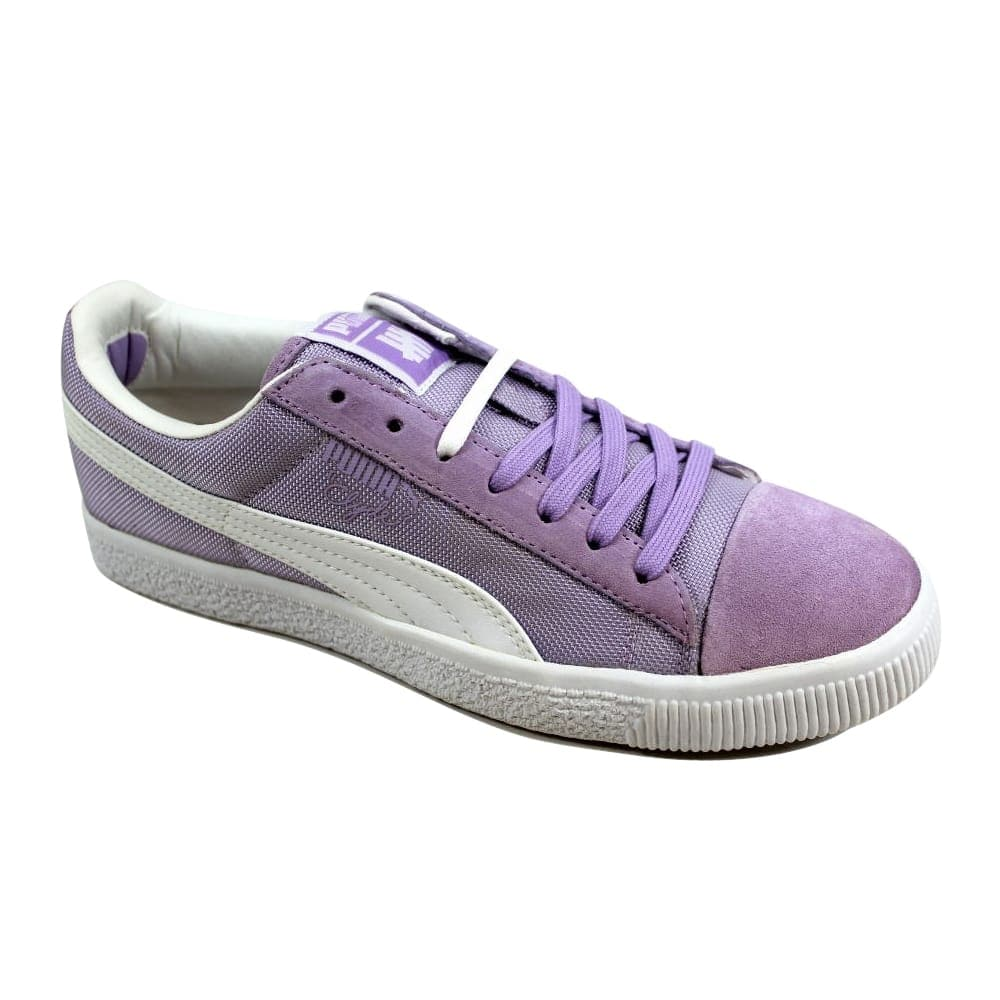half off 6f126 d1d02 Puma Men's Clyde X Undftd Ballistic CB Orchid Bloom Purple/White 353920 04  Size 8