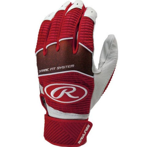 Rawlings Men's Workhouse Batting Glove Baseball/Softball Adult Leather WH950BG