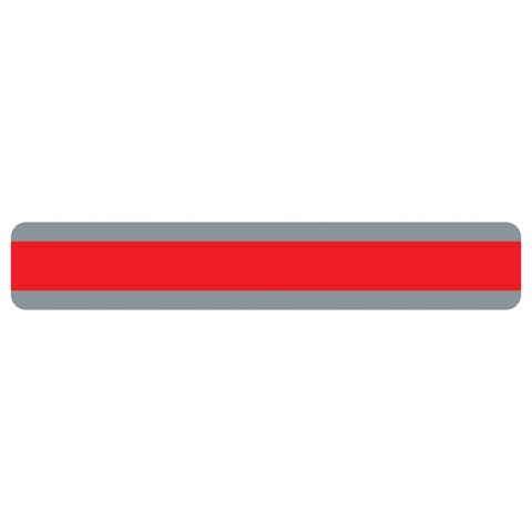 "Double Wide Sentence Strip Reading Guide, 1.25"" x 7.25"", Red - One Size"