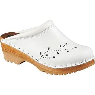 Troentorp Bastad Clogs Women's O'Keefe White