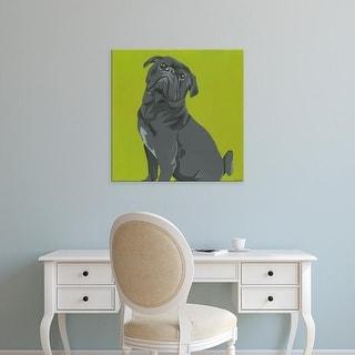 Easy Art Prints June Erica Vess's 'Mackie' Premium Canvas Art