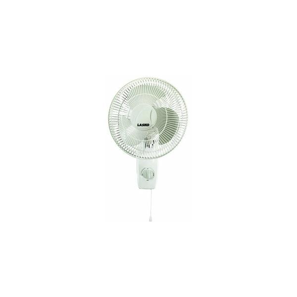 Lasko 12 Inch Oscillating Wall-Mount Fan Lasko Metal Products 3012 12- Inch Wall Fan