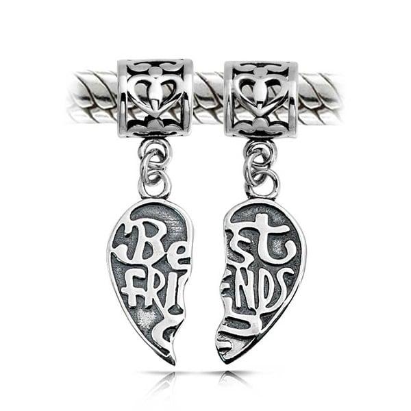 .925 STERLING SILVER CHARM Friendship Love Symbol INFINITY