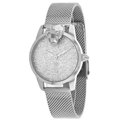 Just Cavalli Women's Mini Silver Dial Watch - JC1L057M0325 - One Size