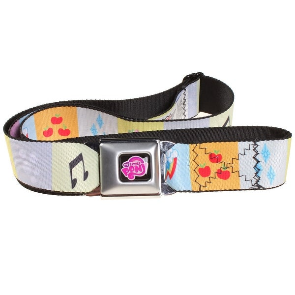 My Little Pony Cutie Mark Seat Belt Belt-Holds Pants Up