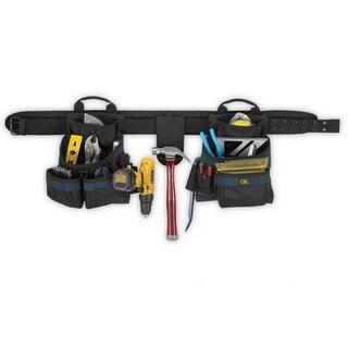 CLC 2602 Framers Ballistic Combo Tool Belt, Large
