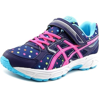 Asics Pre Contend 3 Ps Youth Round Toe Synthetic Blue Running Shoe