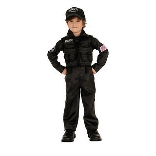SWAT Police Costume Child