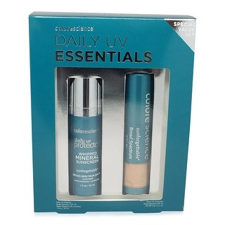 Colorescience Daily Essentials Kit (Daily UVProtector SPF 30 & Brush on Sunscreen SPF 50)