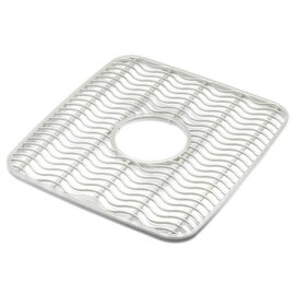 Rubbermaid Clear Twin Sink Mat