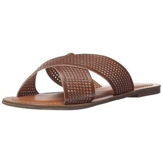 Indigo Rd. Womens Bevrlie Open Toe Casual Slide Sandals