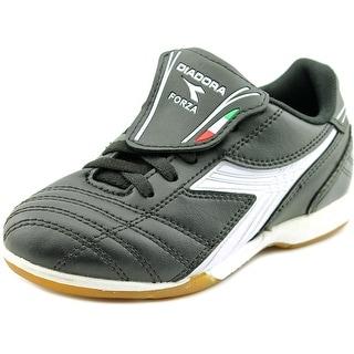 Diadora Forza ID Round Toe Leather Sneakers