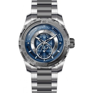 Invicta Men's 30569 'S1 Rally' Gunmetal and Silver Stainless Steel Watch - Multi