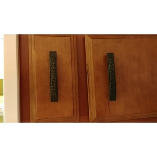 GlideRite 3.75 inch Oil-rubbed Bronze Mission Cabinet Pulls (Pack of 10)