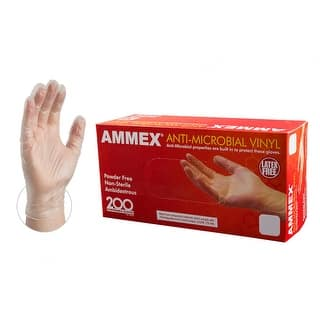 AMMEX Clear Anti-Microbial Vinyl Latex Free Disposable Gloves (Case of 2000)|https://ak1.ostkcdn.com/images/products/is/images/direct/0792bbc289ae20dfab5bb0d5cb6d0cd730f0f842/AMMEX-AAMV-Clear-Anti-Microbial-Vinyl-Industrial-Latex-Free-Disposable-Gloves-%28Box-of-200%29.jpg?impolicy=medium