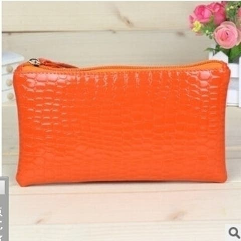 Hot Promotion New Fashion Women's Elegant Zipper Purse Pu Leather Candy Colorful Long Wallets For Girl Handbags