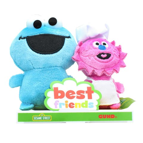 Sesame Street Best Friends 4 Inch Plush Set