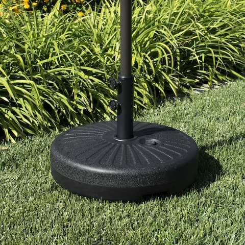 Newport 55-lb Fillable Round Patio Umbrella Base