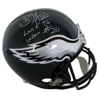 Brian Dawkins Signed Eagles Full Size Replica Helmet Last To Wear 20 JSA ITP