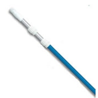 Blue Adjustable Swimming Pool Telescopic Pole for Vacuums & Skimmers 5-15'