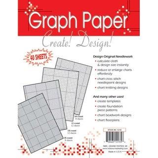 "Needlework Graph Papers-8.5""X11"" 40/Pkg"