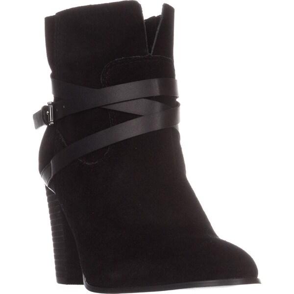Carlos by Carlos Santana Miles Ankle Boots, Black
