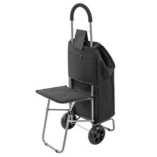 Trolley Dolly with Fold Out Seat - Rolling Carry Bag