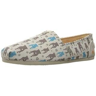 Skechers Womens Gentle Giant Printed Memory Foam Casual Shoes - 11 medium (b,m)