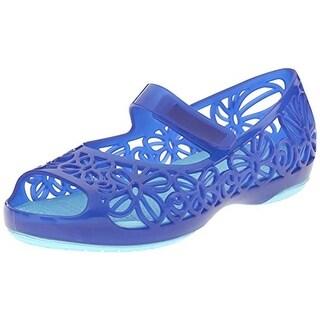 Crocs Isabella Infant Girls Man Made Flats - 6 medium (b,m)