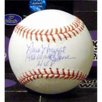 Ray Knight Autographed Baseball Inscribed 1986 World Series MVP