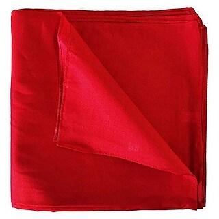 Set of 300 Mechaly Unisex Solid 100% Polyester Plain Bandanas - Bulk Wholesale