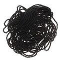 Czech Seed Beads 11/0 Jet Black Opaque (1 Hank) - Thumbnail 0