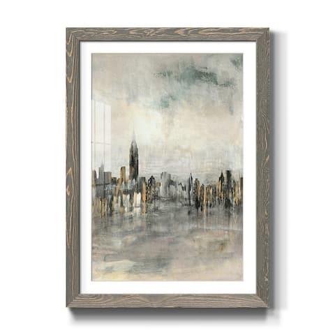 City Lights-Premium Framed Print - Ready to Hang