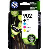 HP 902 CMYK Ink Cartridge Combo Pack X4E05AN - Black