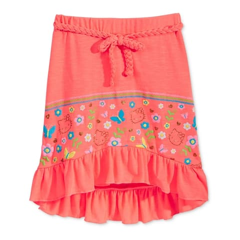 Evy Of California Girls Hello Kitty Hi-Lo High-Low Skirt