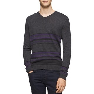 Calvin Klein Mens Pullover Sweater Knit Striped (3 options available)