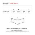 Women's Blue Camo Authentic True Timber Bikini String shorts ONLY Beach Swimwear - Thumbnail 2