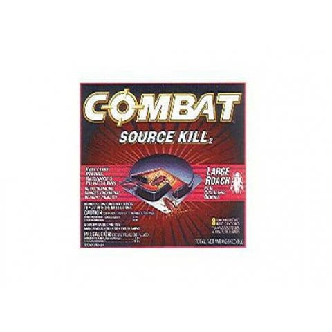 Combat 41913 Source Kill Roach Killing System, 8-Count