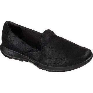 66afaad8c01 Shop Skechers Women s GOwalk Lite Skimmer Black Black - On Sale ...
