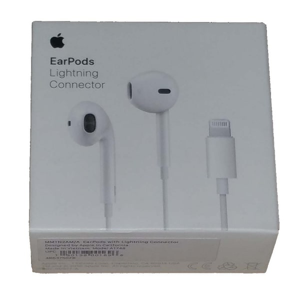 f88650f9923 Original Apple EarPods with Lightning Connector for iPhone 5,6,7 iPad Mini,