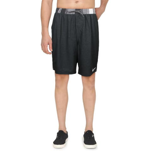 Nike Mens Repel Trunks Beachwear Board Shorts - Black - XXL