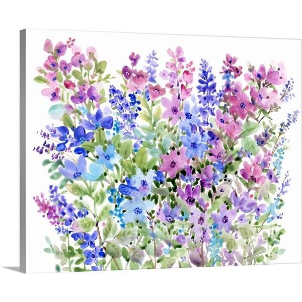 """Floral Fragrance II"" Canvas Wall Art"