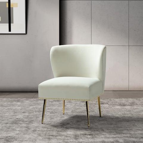 Celtia Accent Side Chair with Nailhead Trim