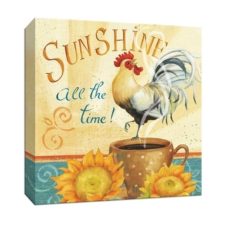 """PTM Images 9-152346  PTM Canvas Collection 12"""" x 12"""" - """"Beautiful Day II"""" Giclee Sayings & Quotes Textual Art Print on Canvas"""