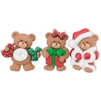 A Beary Merry Christmas - Dress It Up Holiday Embellishments